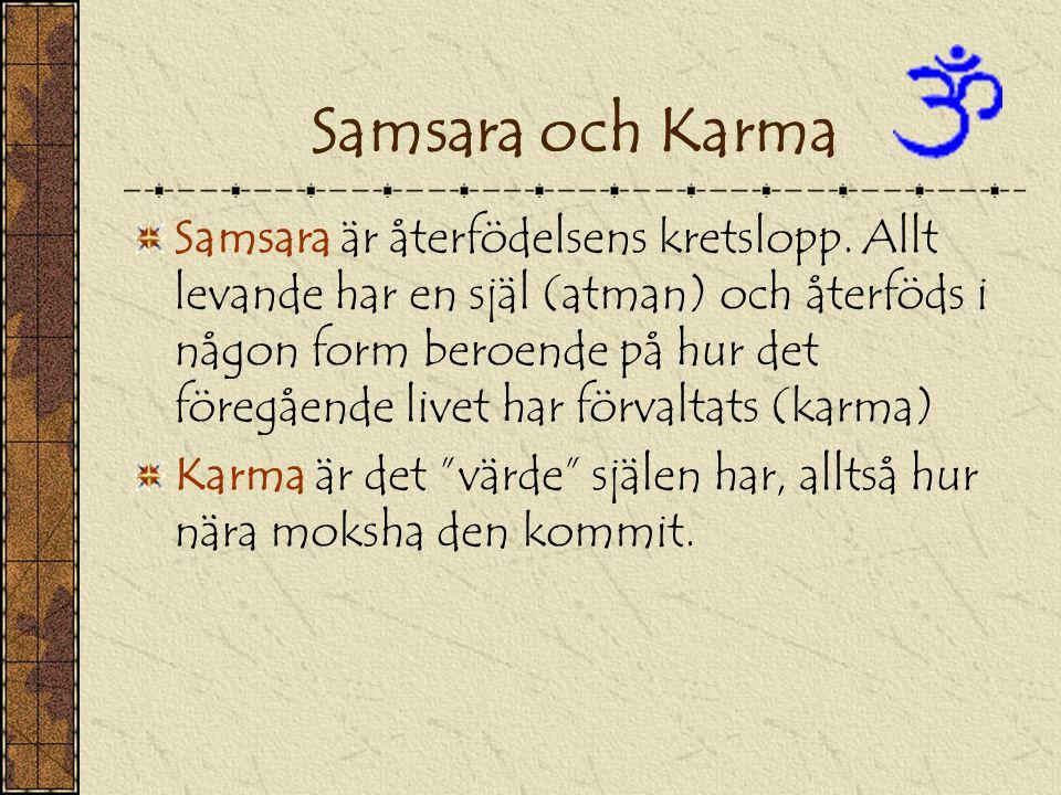 Samsara och Karma