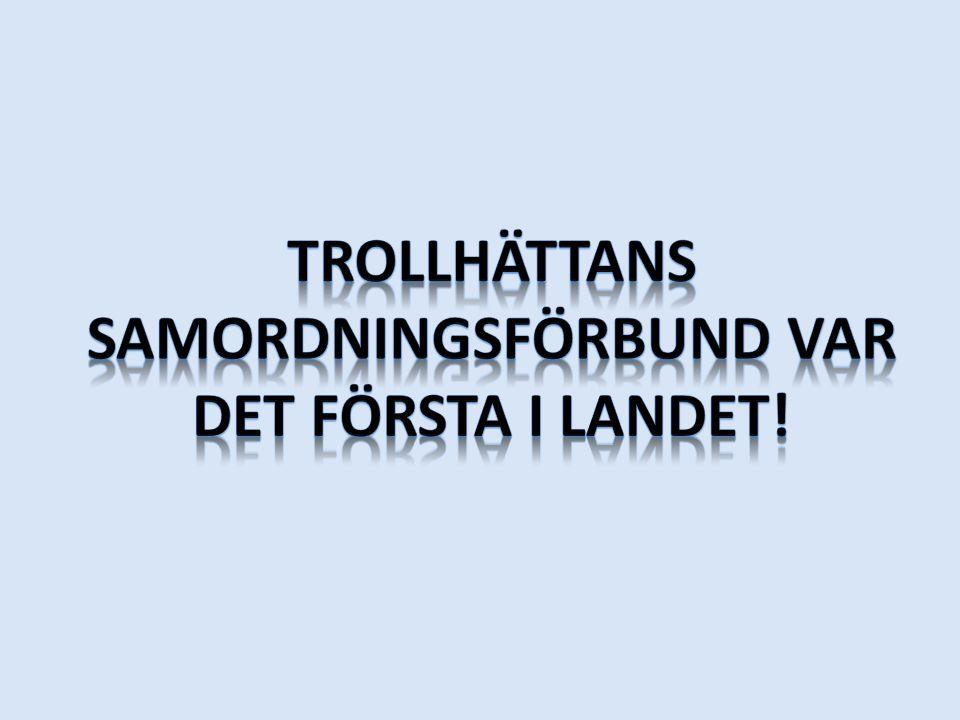 Trollhättans samordningsförbund var det första i landet!