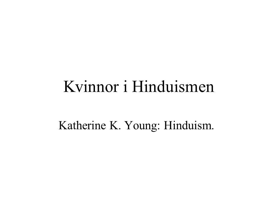 Katherine K. Young: Hinduism.