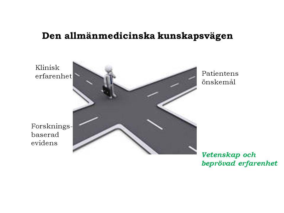 Den allmänmedicinska kunskapsvägen