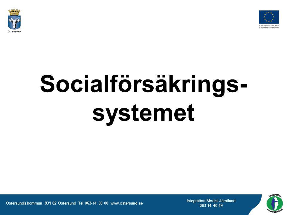Socialförsäkrings-systemet