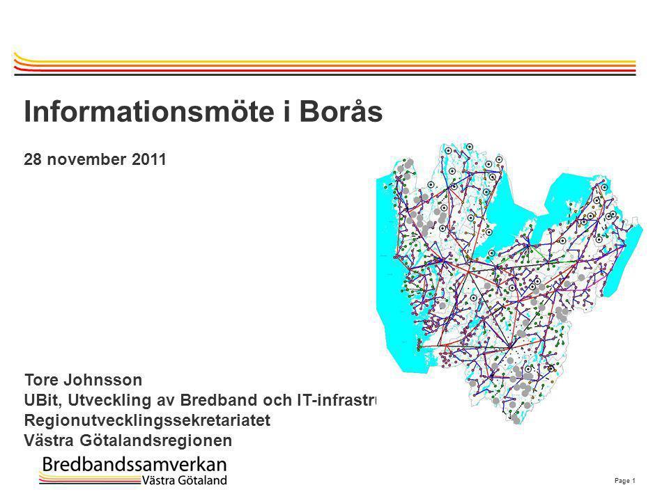 Informationsmöte i Borås