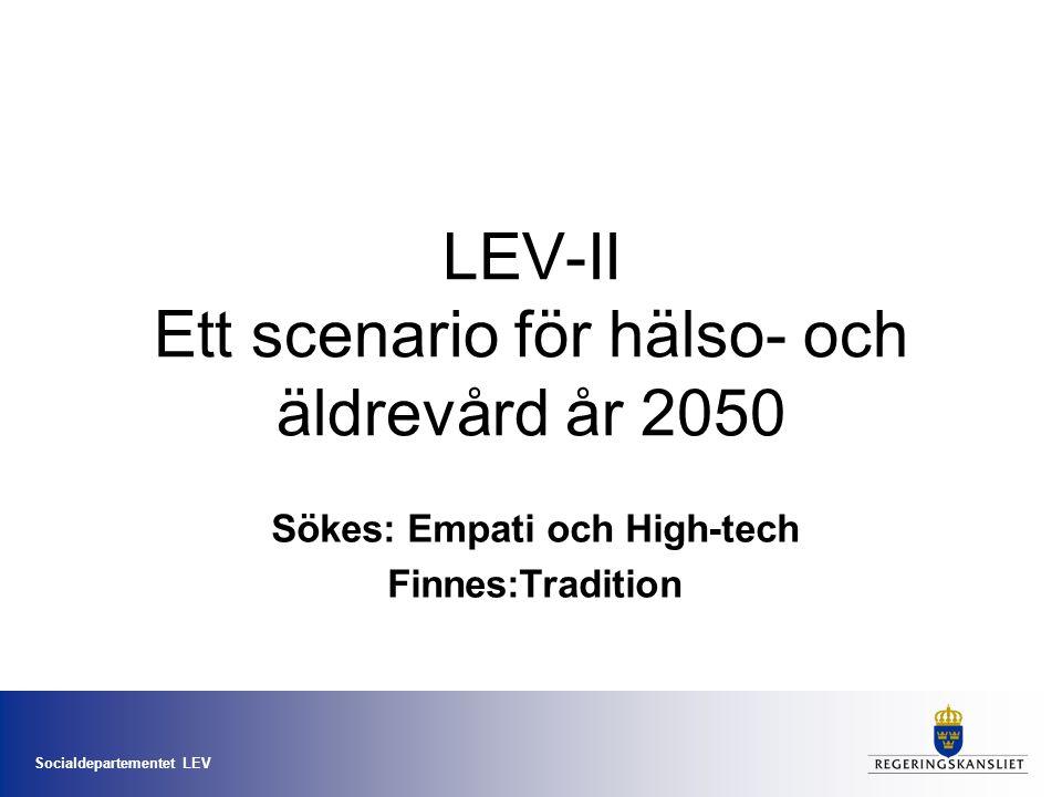 LEV-II Ett scenario för hälso- och äldrevård år 2050