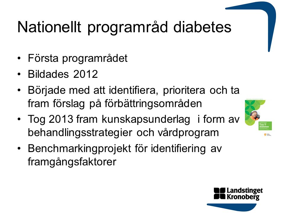 Nationellt programråd diabetes