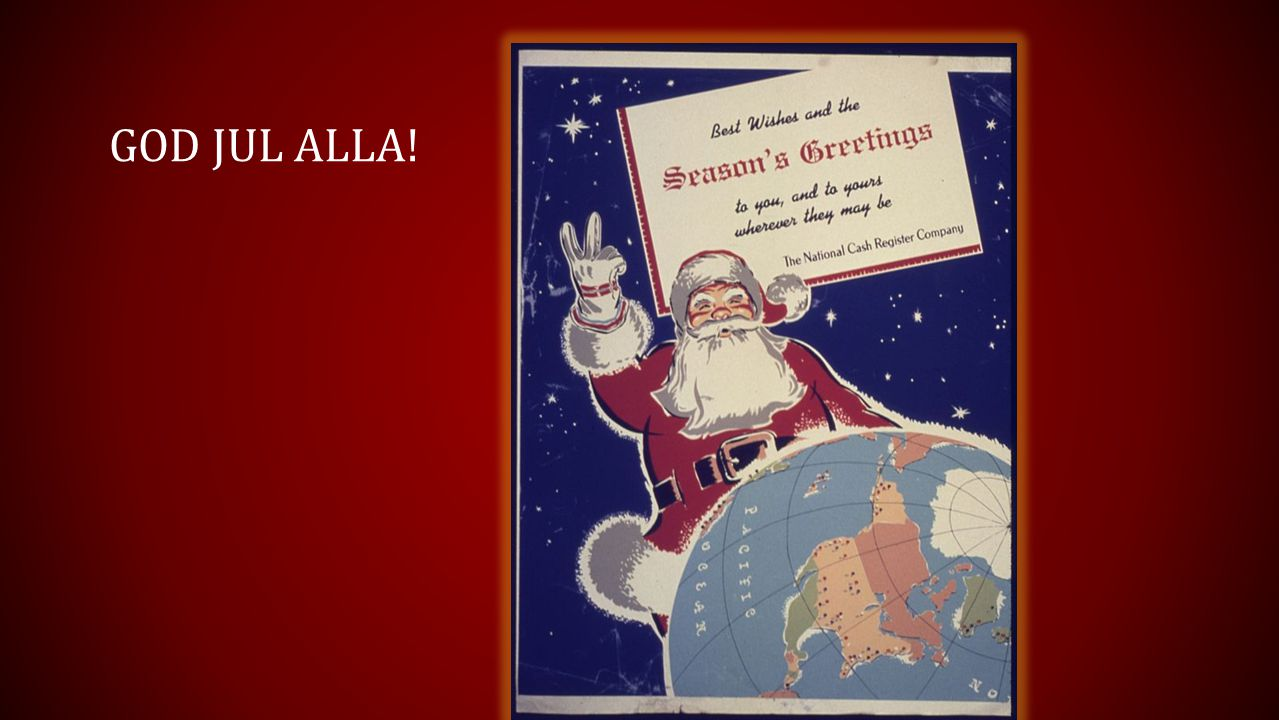 GOD JUL alla!