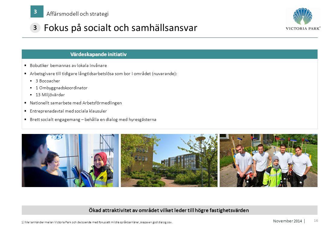 Fokus på socialt och samhällsansvar