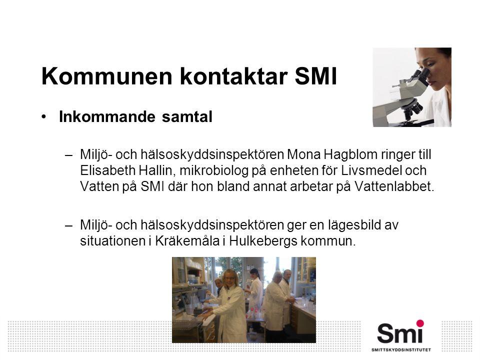 Kommunen kontaktar SMI