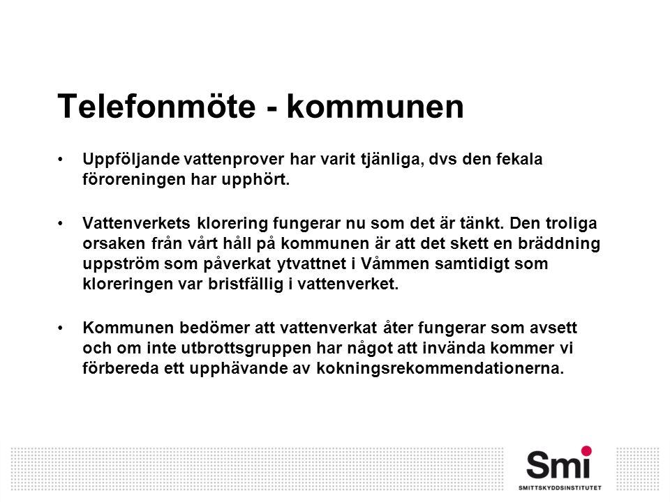 Telefonmöte - kommunen