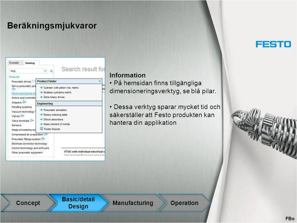 Beräkningsmjukvaror Information