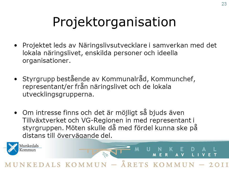 23 Projektorganisation.