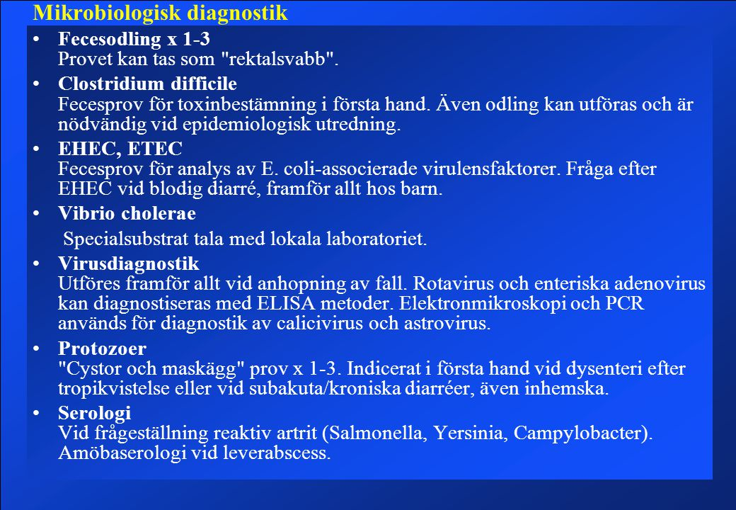 Mikrobiologisk diagnostik