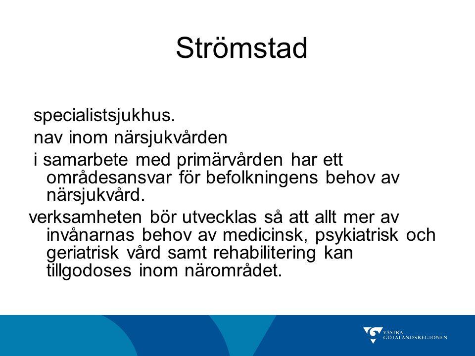 Strömstad specialistsjukhus. nav inom närsjukvården