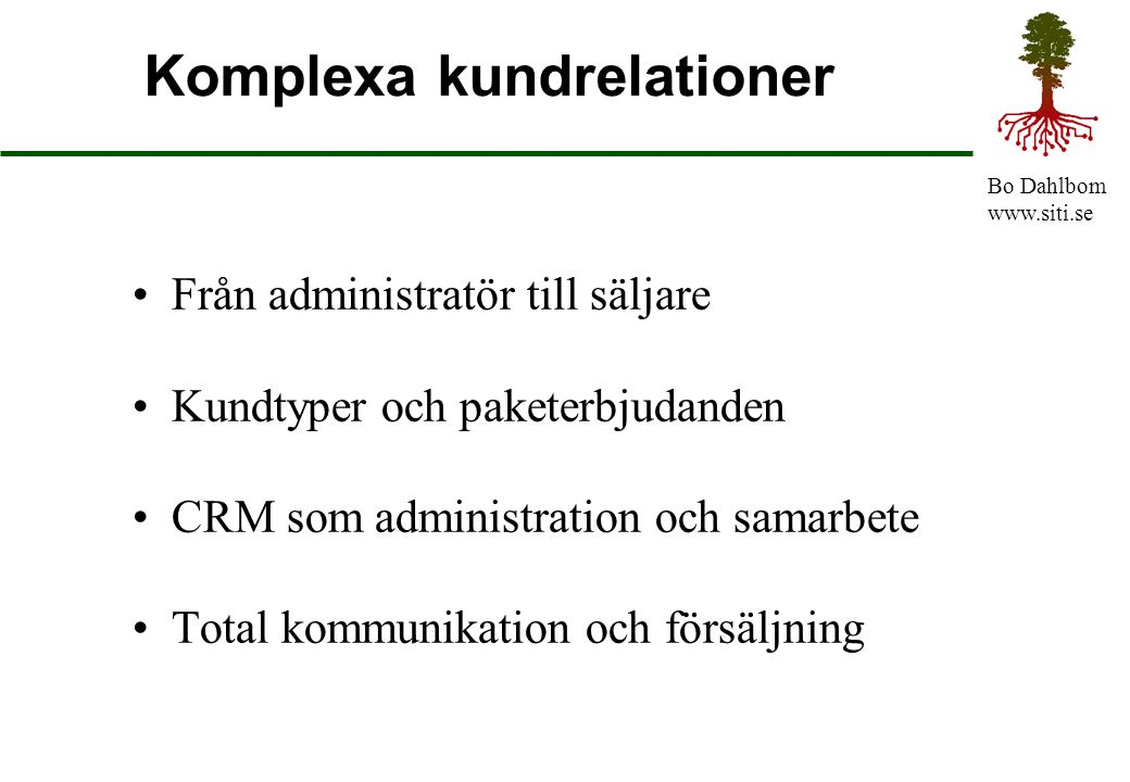 Komplexa kundrelationer