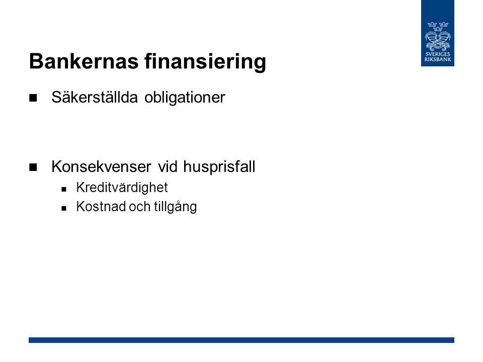 Bankernas finansiering