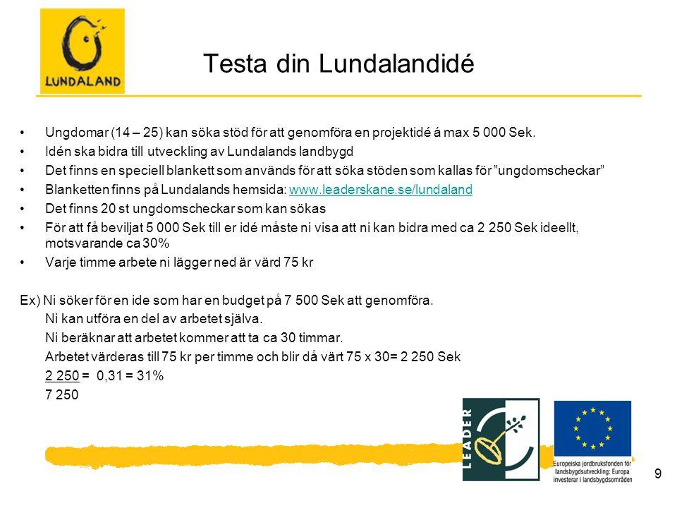 Testa din Lundalandidé