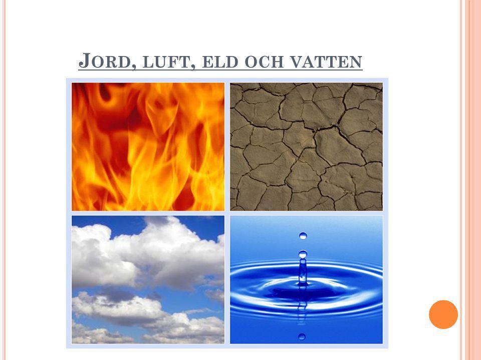 Jord, luft, eld och vatten