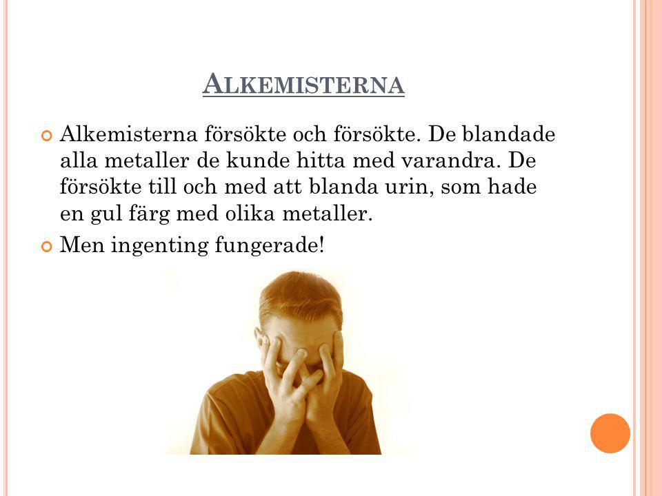 Alkemisterna