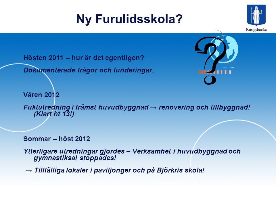 Ny Furulidsskola Hösten 2011 – hur är det egentligen