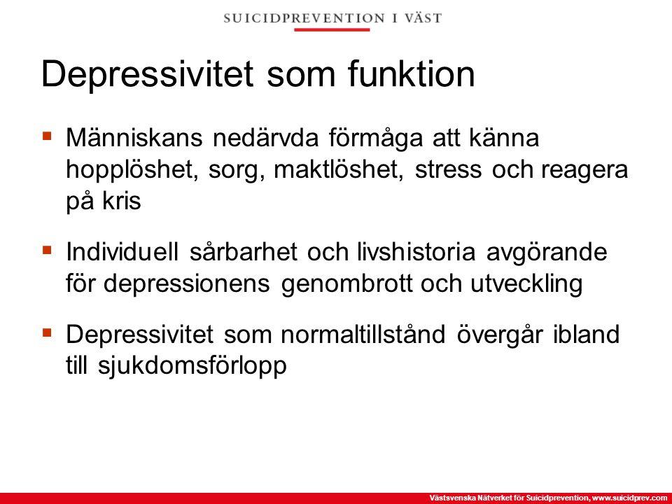 Depressivitet som funktion