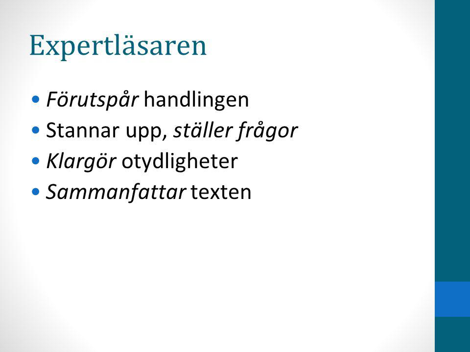 När Introduktion på svenskan under v.38