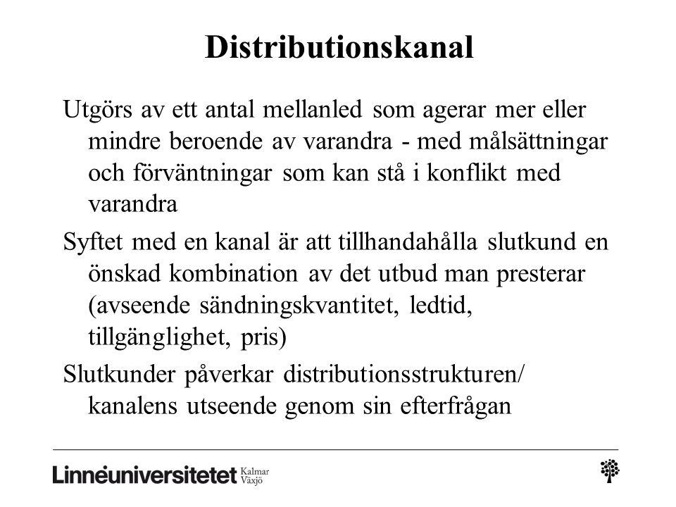 Distributionskanal