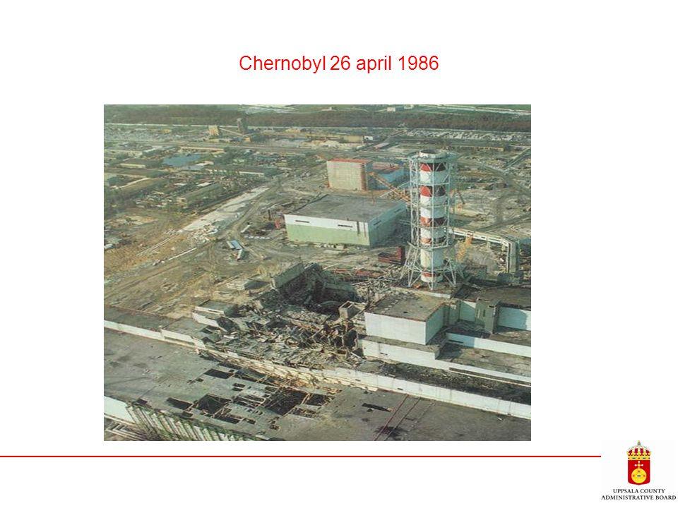 Chernobyl 26 april 1986