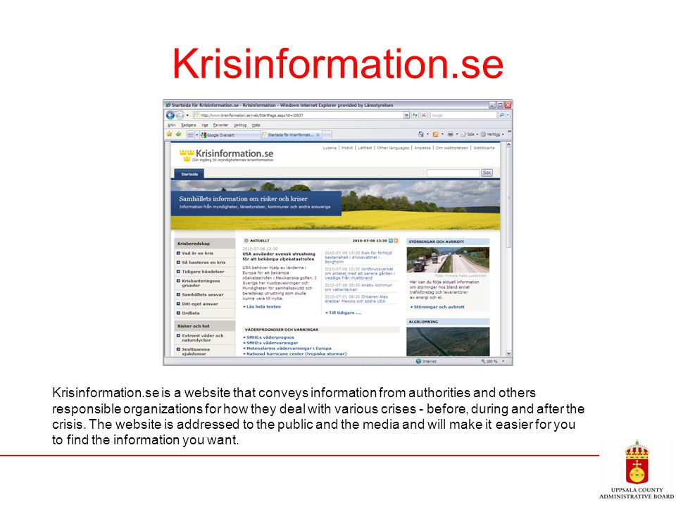 Krisinformation.se