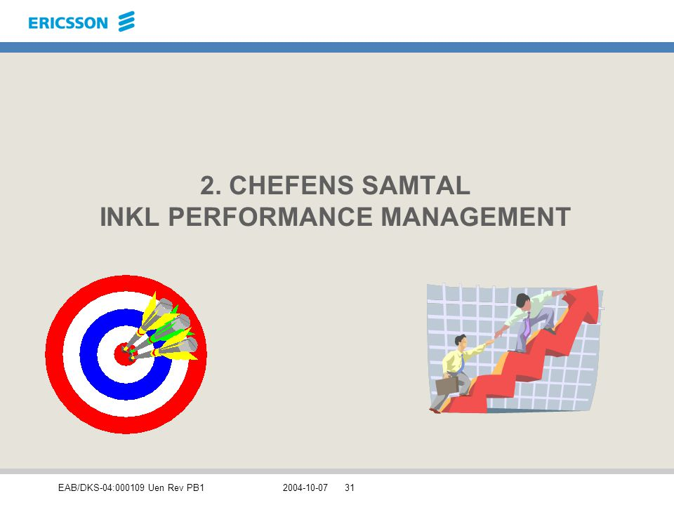 2. CHEFENS SAMTAL INKL PERFORMANCE MANAGEMENT