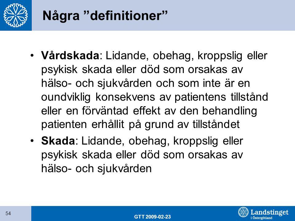Några definitioner