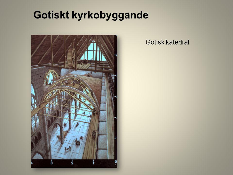 Gotiskt kyrkobyggande