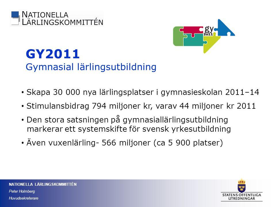 GY2011 Gymnasial lärlingsutbildning