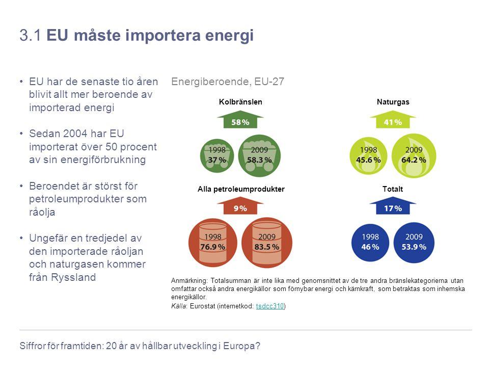 3.1 EU måste importera energi