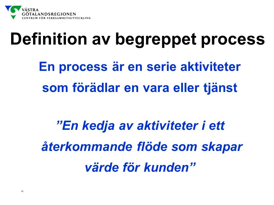 Definition av begreppet process