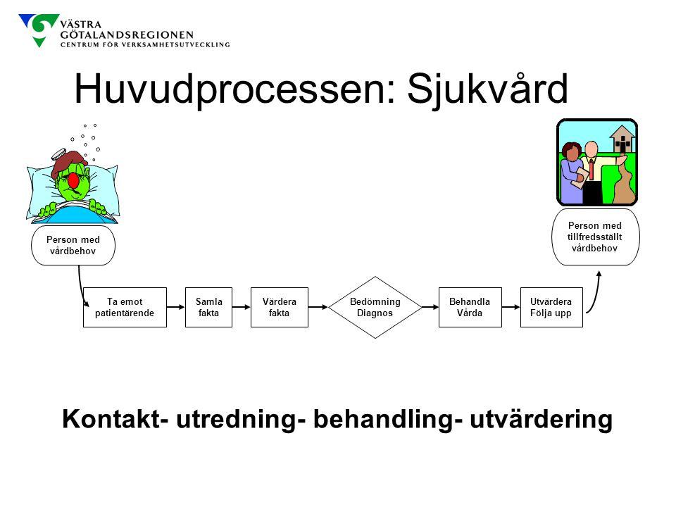 Huvudprocessen: Sjukvård