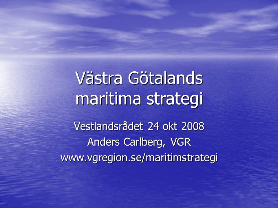 Västra Götalands maritima strategi