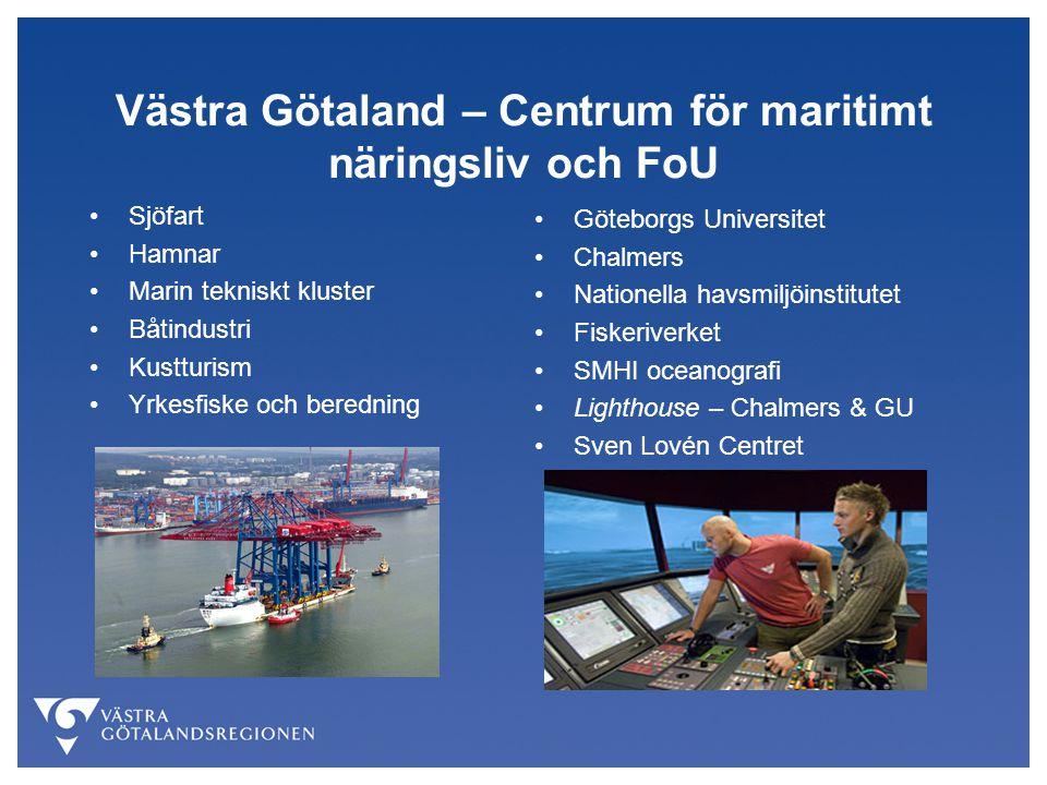 Västra Götaland – Centrum för maritimt näringsliv och FoU