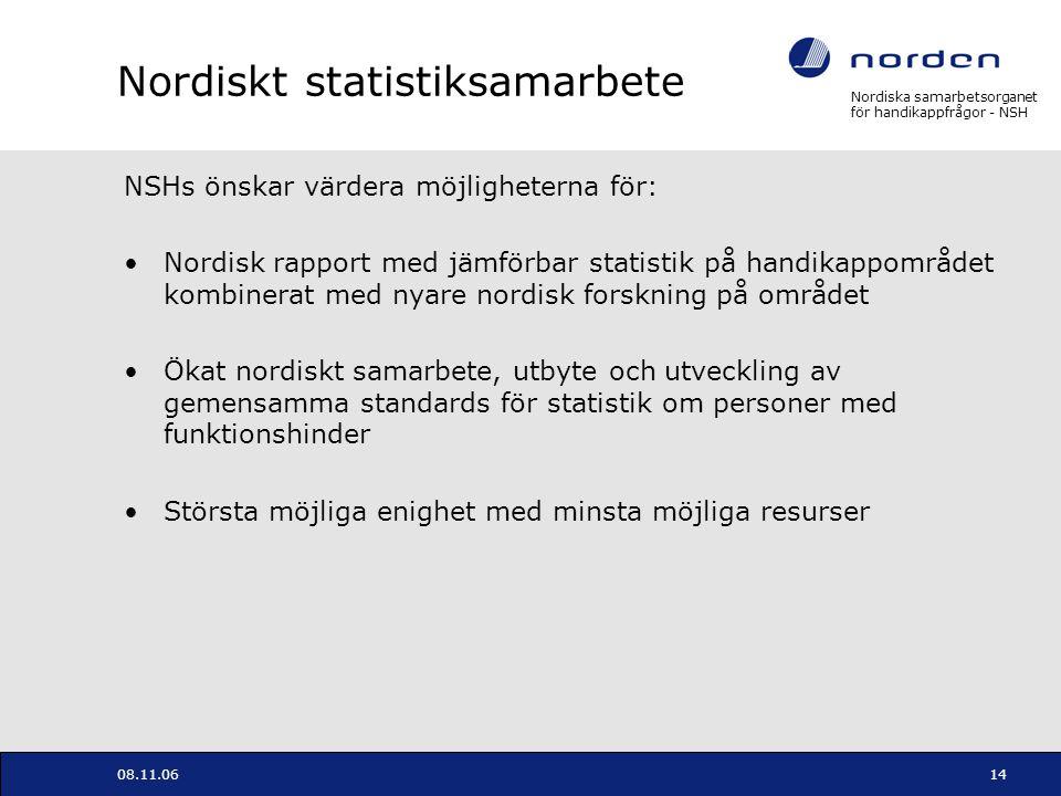 Nordiskt statistiksamarbete