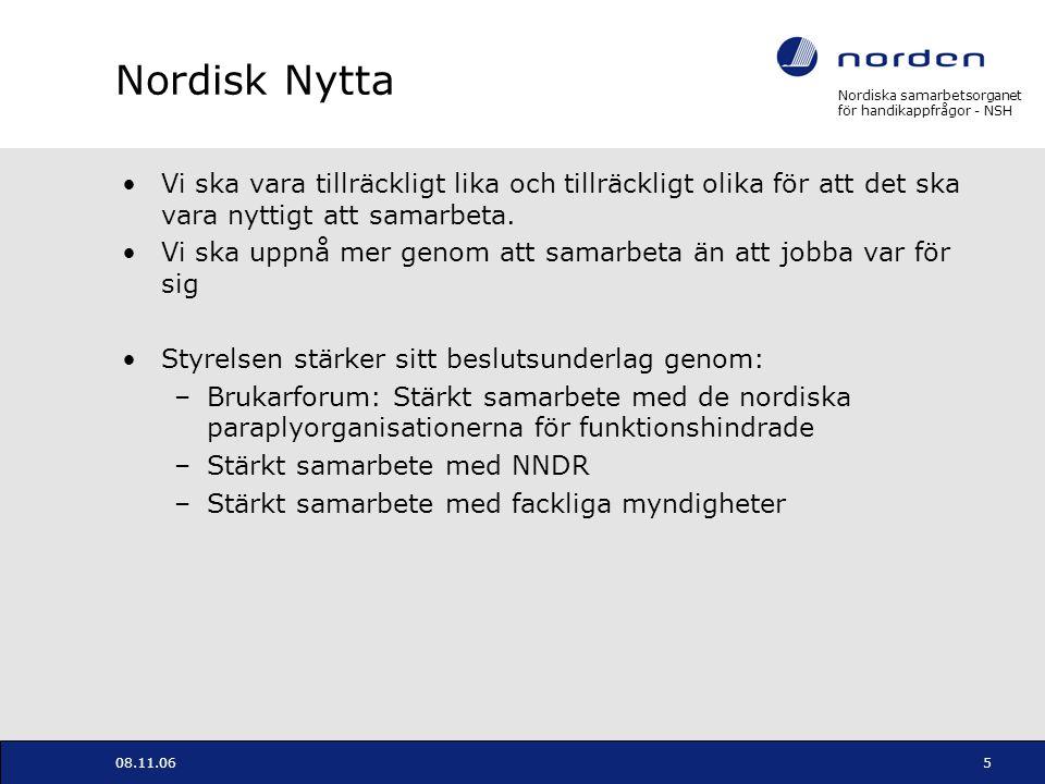 Nordisk Nytta Vi ska vara tillräckligt lika och tillräckligt olika för att det ska vara nyttigt att samarbeta.