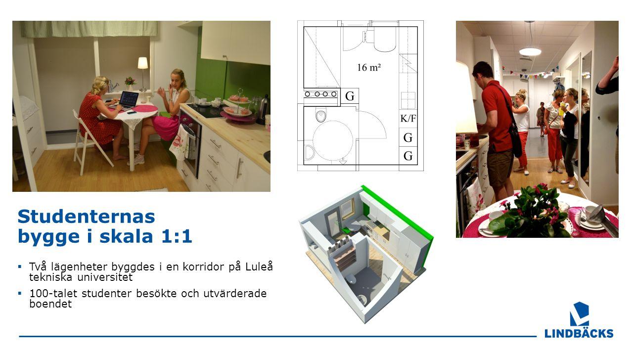 Studenternas bygge i skala 1:1
