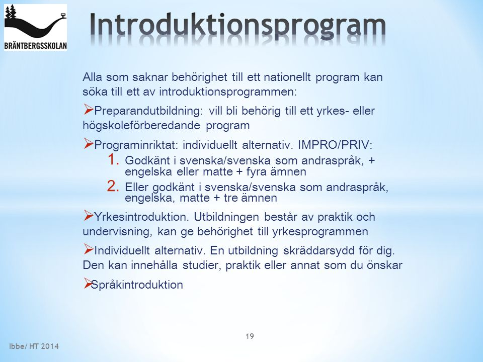 Introduktionsprogram