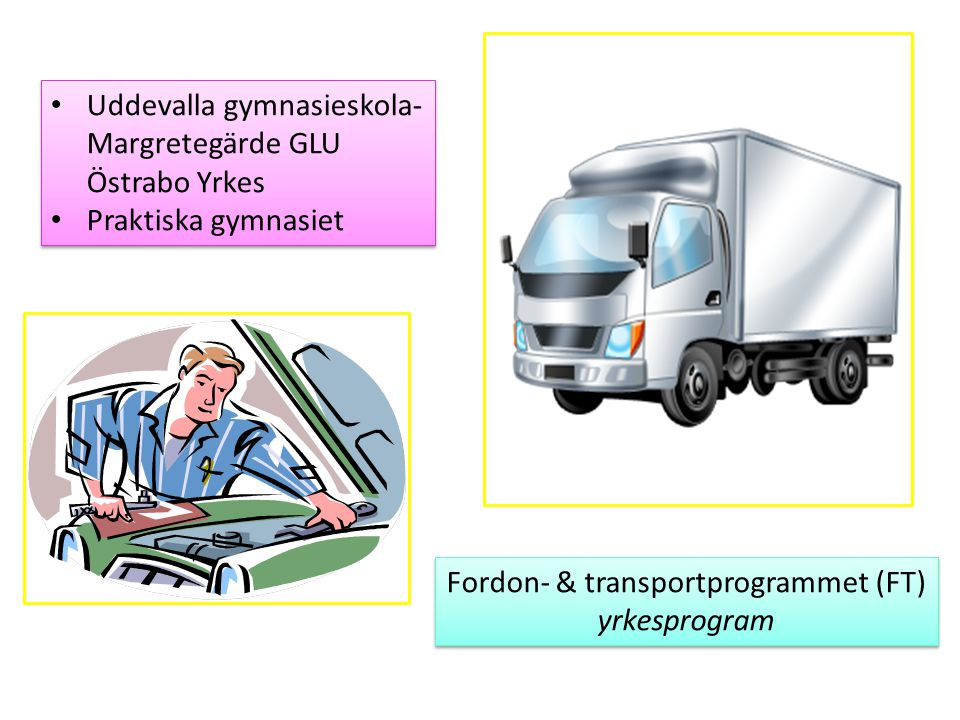Fordon- & transportprogrammet (FT)