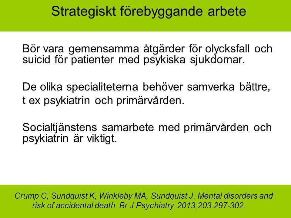 Strategiskt förebyggande arbete