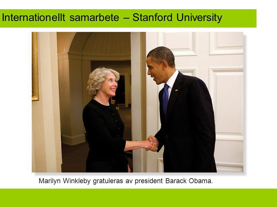 Internationellt samarbete – Stanford University