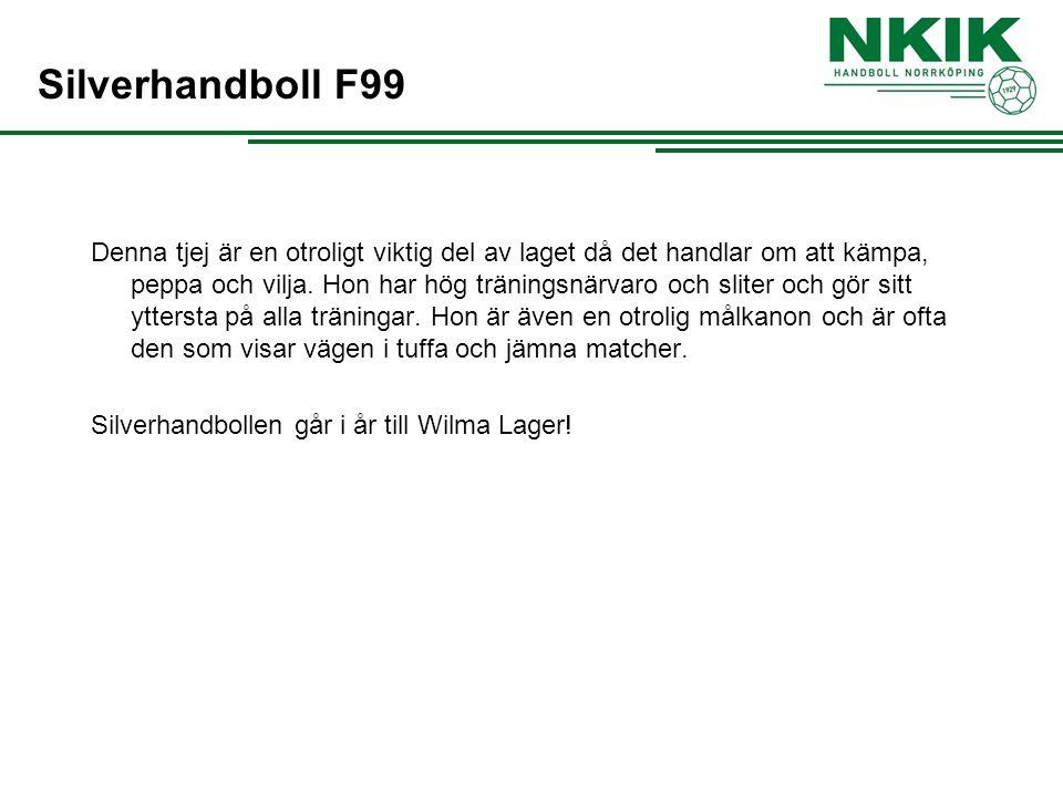 Silverhandboll F99