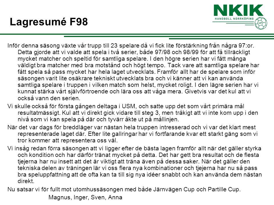 Lagresumé F98