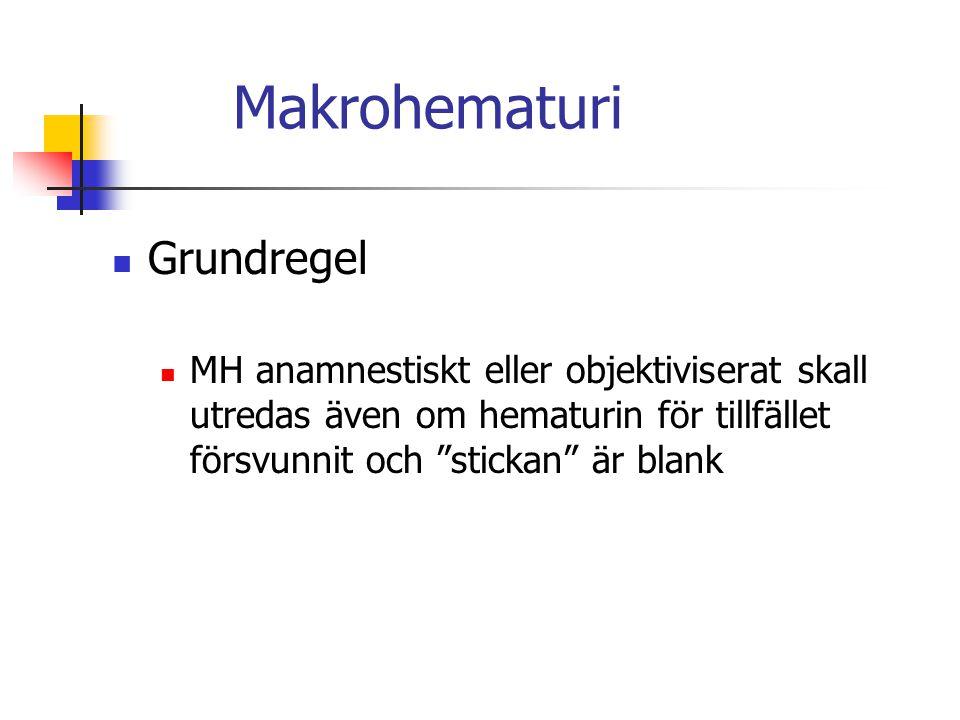 Makrohematuri Grundregel