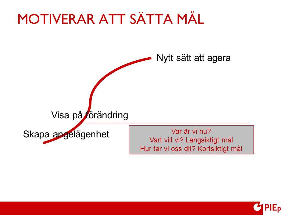 MOTIVERAR ATT SÄTTA MÅL