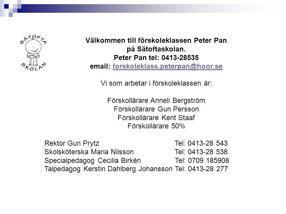 email: forskoleklass.peterpan@hoor.se