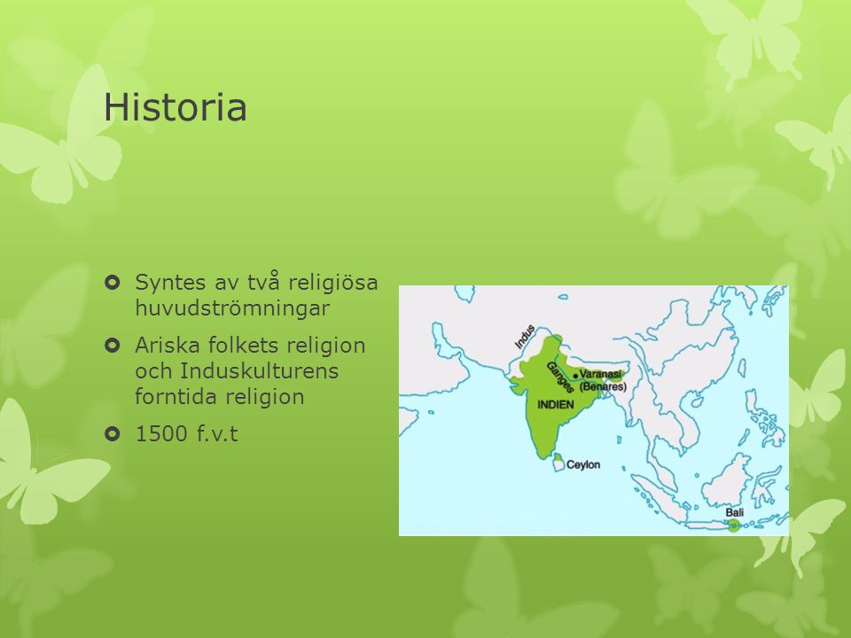 Historia Syntes av två religiösa huvudströmningar