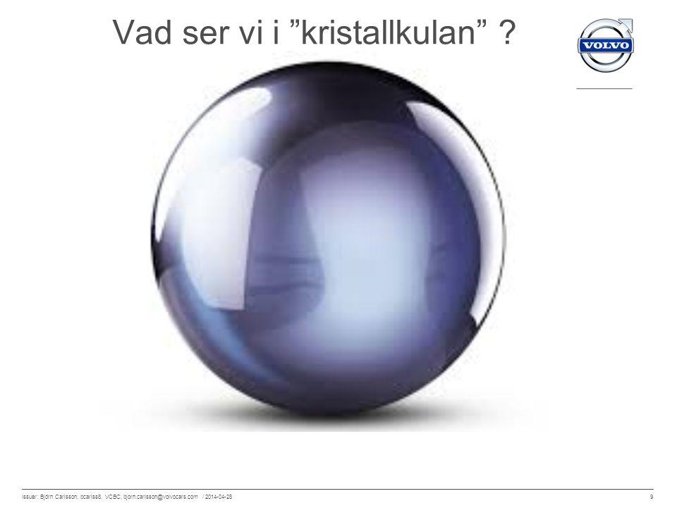 Vad ser vi i kristallkulan